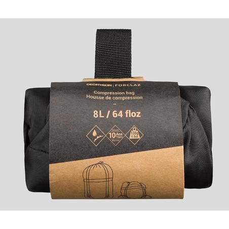 Sac de compression de 8l pour de sac de couchage
