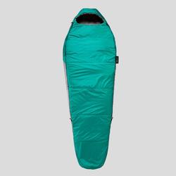 Slaapzak voor trekking Trek 500 10° blauw