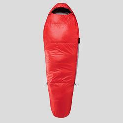 Sac de couchage de trekking - TREK 500 15° rouge