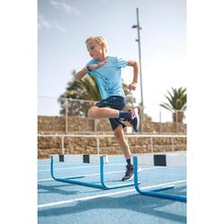 兒童款田徑運動鞋AT 300 BREATH - 藍色/紅色