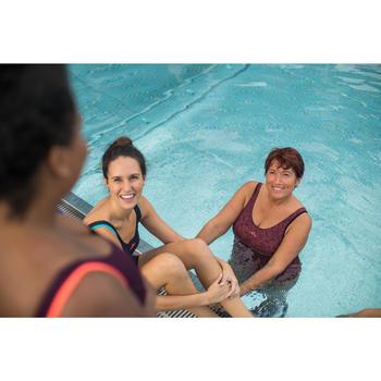 Women's Aquafitness one-piece swimsuit Mika Atch - orange