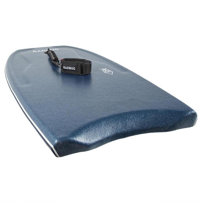 Bodyboard 500 blauw/kaki arm leash