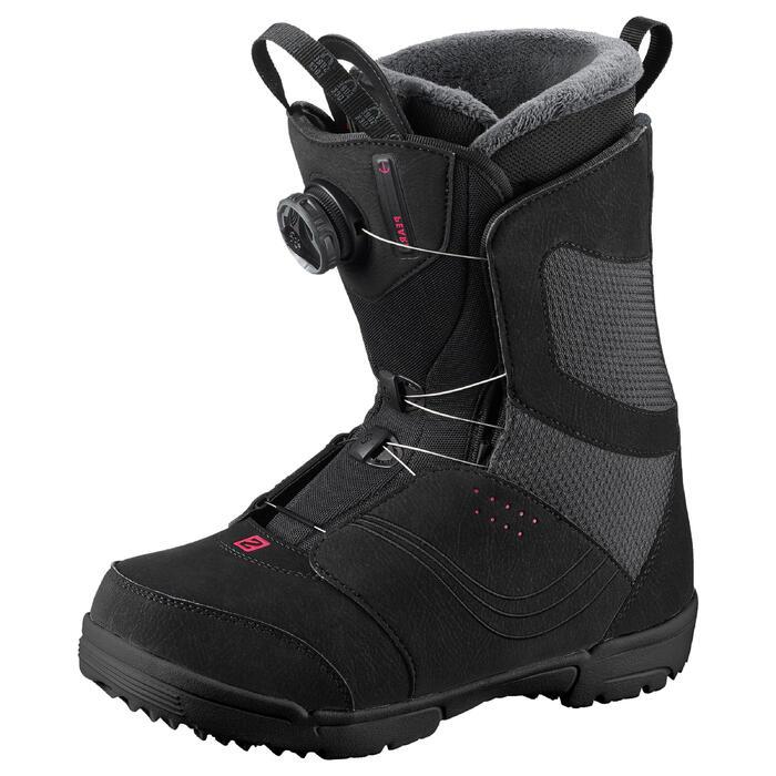 Chaussures de snowboard femme Pearl Boa noires