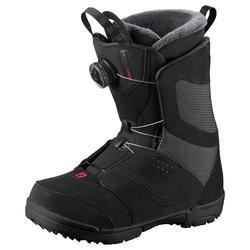 Snowboard Boots Salomon Pearl Boa Damen schwarz