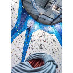 CORDE D'ESCALADE INDOOR 10MM x 35 M - COULEUR BLEU