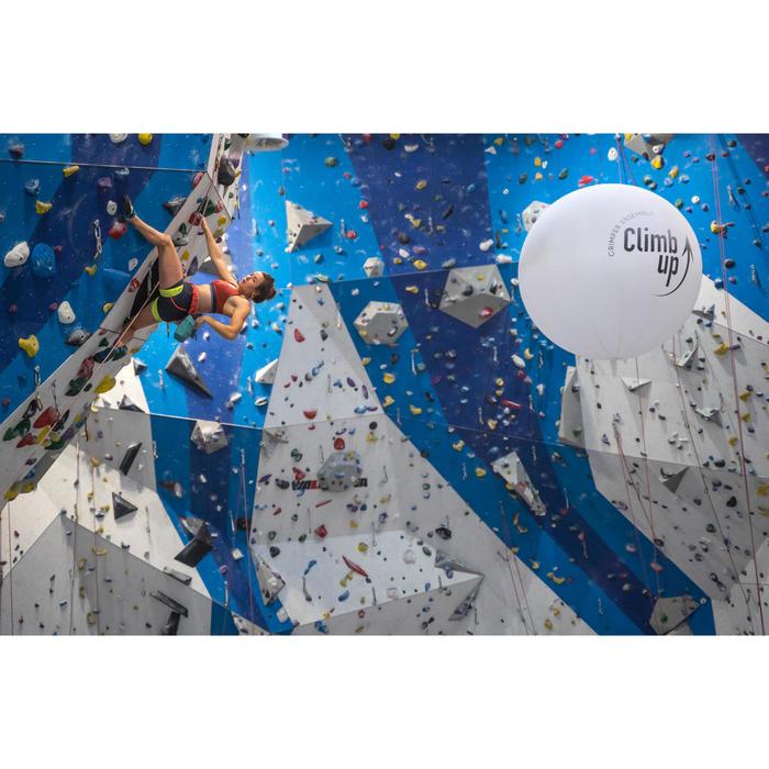Sport-BH Klettern Edge Damen ziegelrot