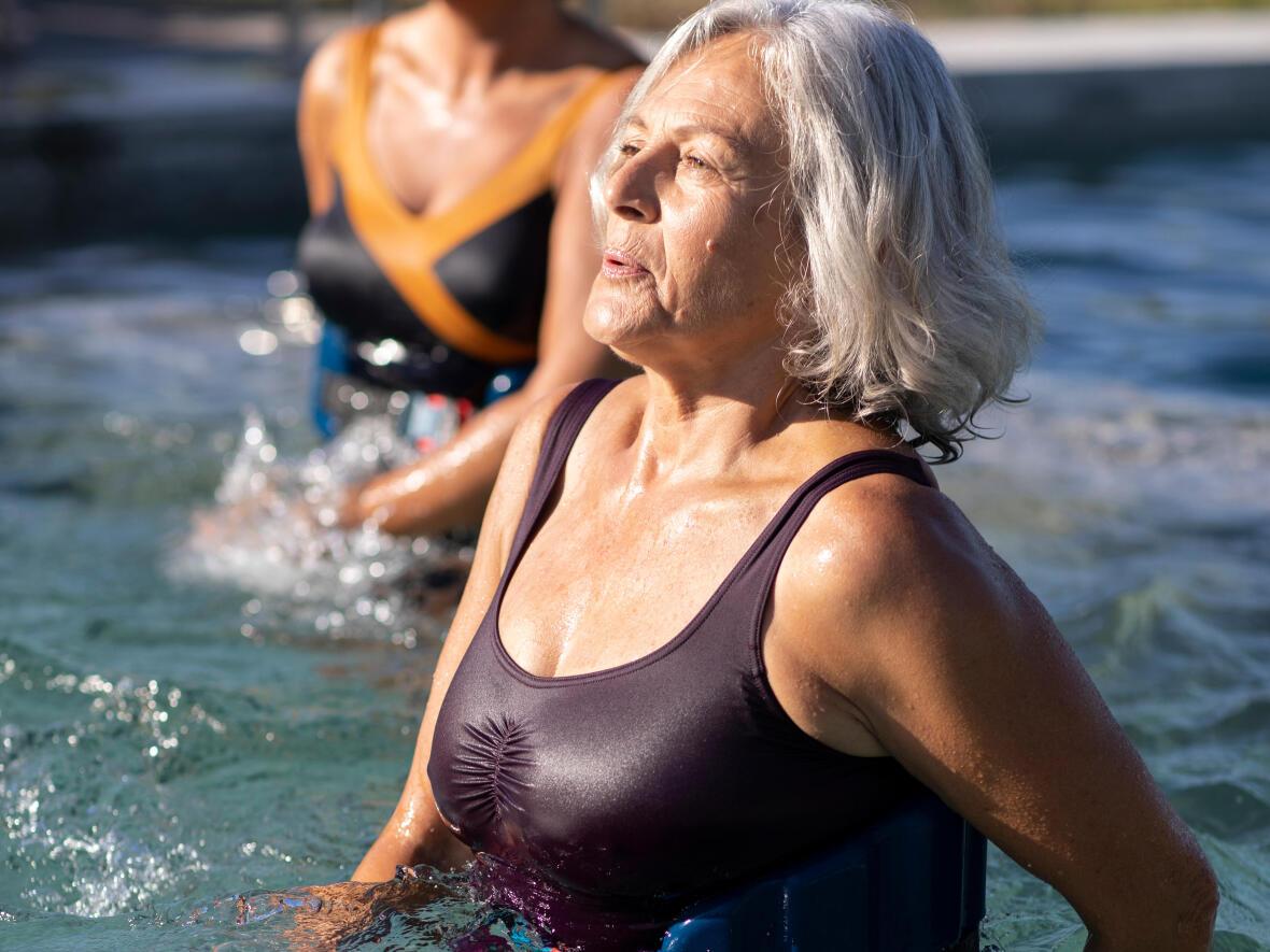 aquagym exercice