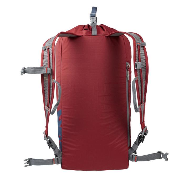 Rugzak voor klimsport van 20 liter Cliff 20 bordeaux