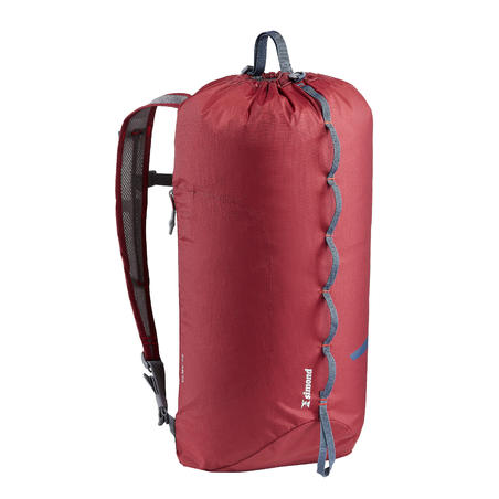 Climbing Backpack 20 Litres - Cliff 20 Burgundy