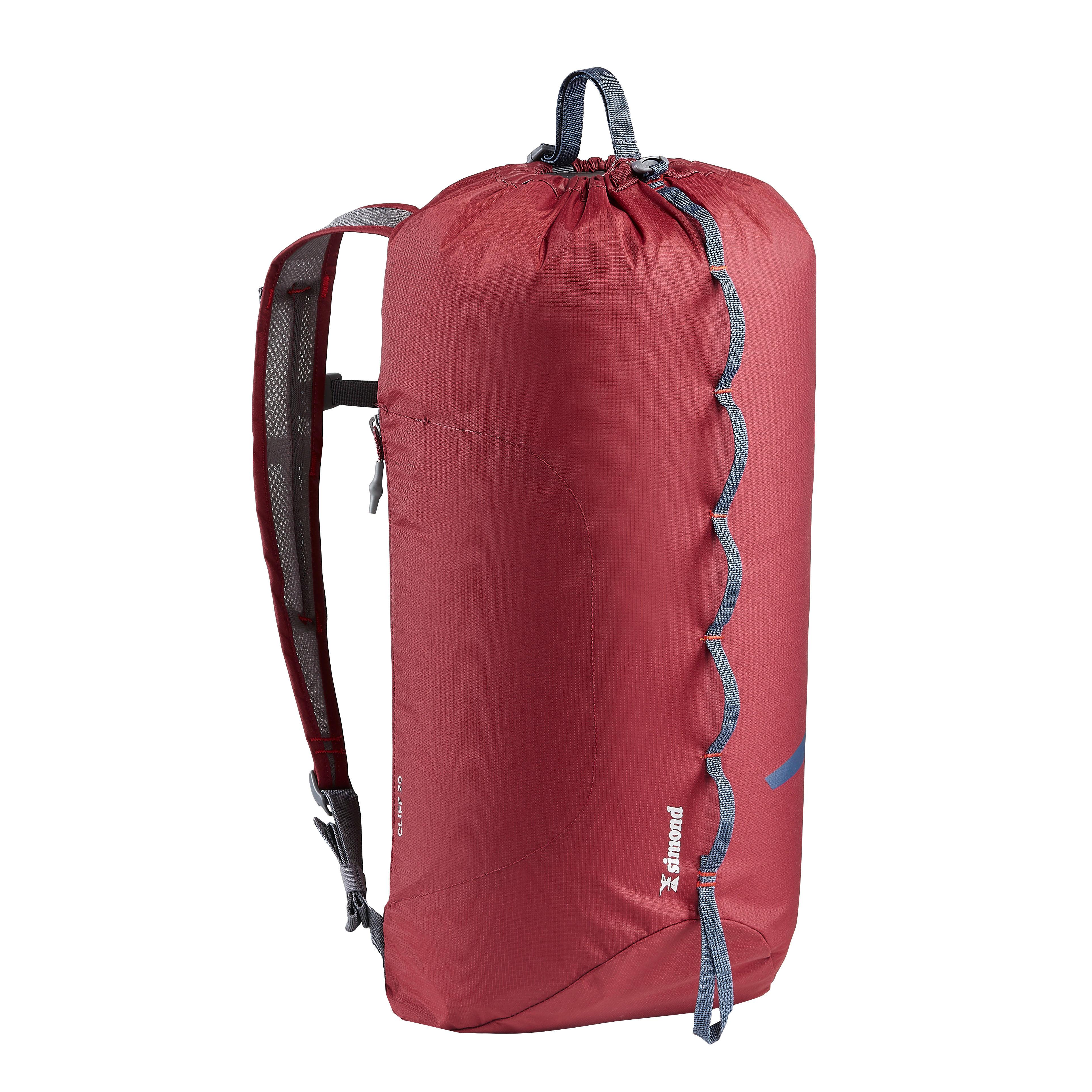Sac à Dos Pour Corde D/'escalade Boucle Réglable Sac Pliable Confortable Camping