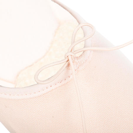 Stretch Canvas Split Sole DemiPointe Ballet Shoes Size 9.5C to 6.5