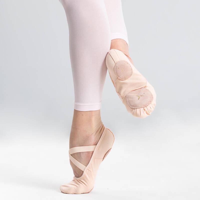BALETNÍ OBUV Balet - PLÁTĚNÉ BALETNÍ PIŠKOTY STAREVER - Balet