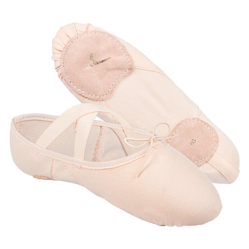BALLET SHOES Ballet - Stretch Demi Pointe Shoes DOMYOS - Ballet