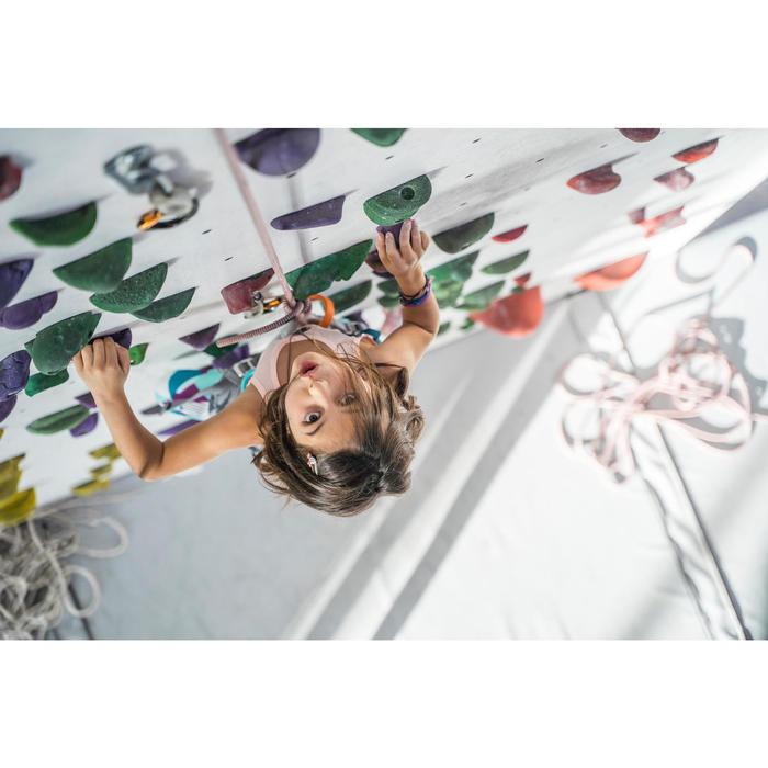 CHAUSSONS D'ESCALADE ENFANT - ROCK GRIS VERT