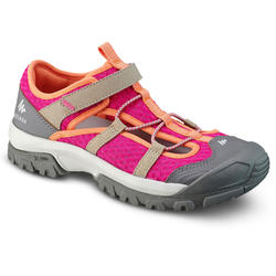 HIKING SANDALS - MH150 - PINK - KIDS - SIZE 26 TO 39