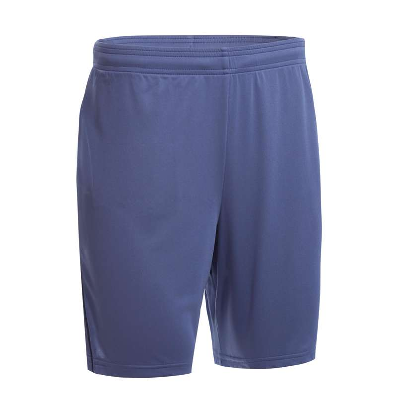 MEN'S INTERMEDIATE BADMINTON APPAREL Badminton - Shorts 530 M GREY PERFLY - Badminton Clothing