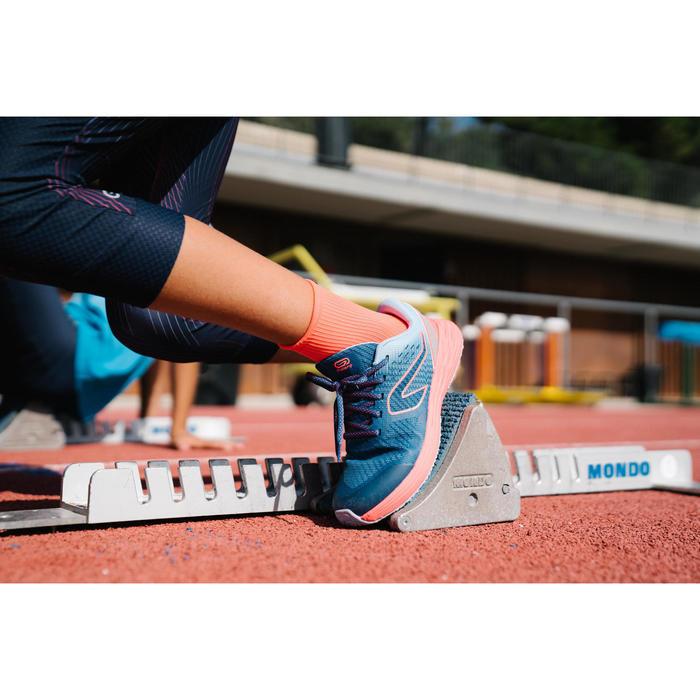 Zapatillas Running y Atletismo Kiprun Fast Niños Azul/Naranja