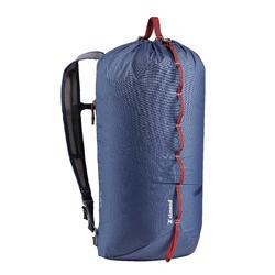 Klimrugzak 20 liter CLIFF 20 blauw