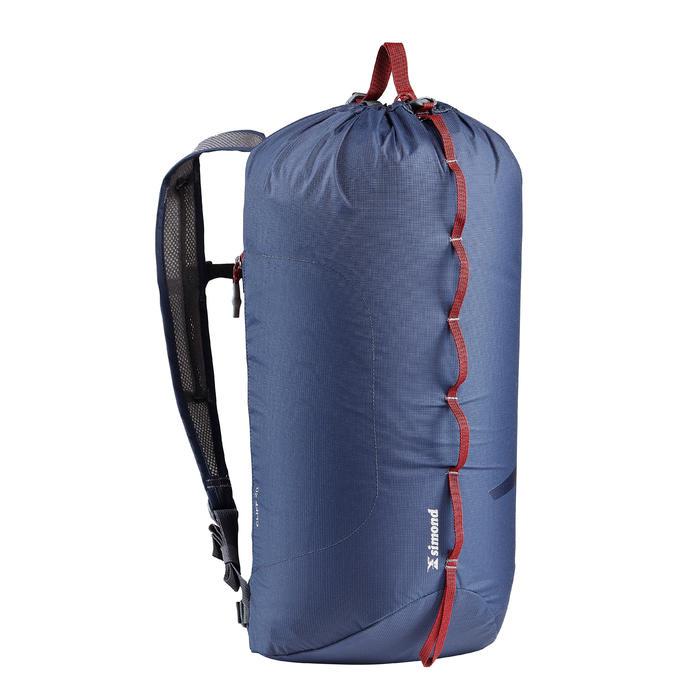 Sac à dos d'escalade 20 litres - CLIFF 20 Bleu Marine