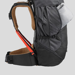 Men's mountain trekking rucksack | TREK 100 Easyfit 50L - black