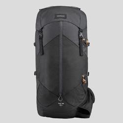 Mochila trekking montaña hombre - TREK 100 Easyfit - 50L negro