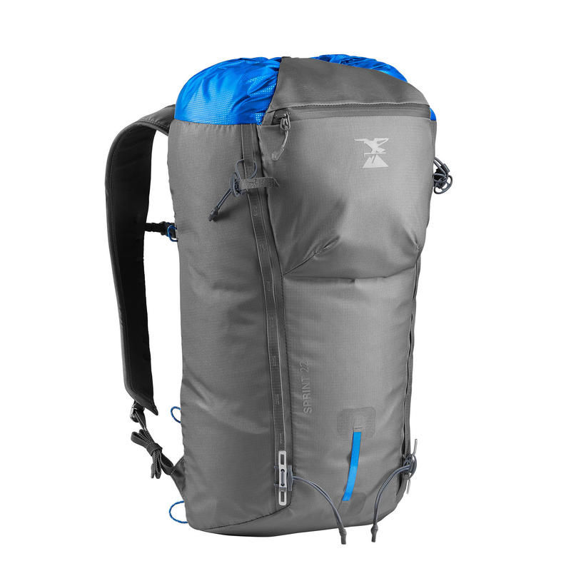 Mountaineering Backpack 22 Litres - Sprint 22 Grey