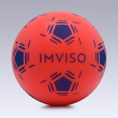 Balón de Fútbol Espuma Imviso Talla 3 Rojo