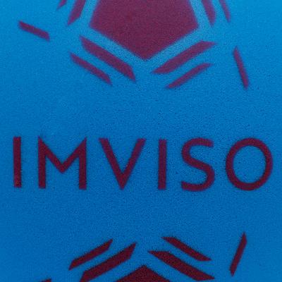Balón de Fútbol Espuma Imviso Talla 3 Azul
