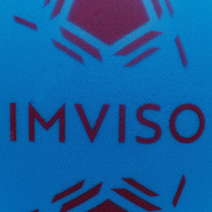 Ballon de Futsal Mousse taille 4 bleu