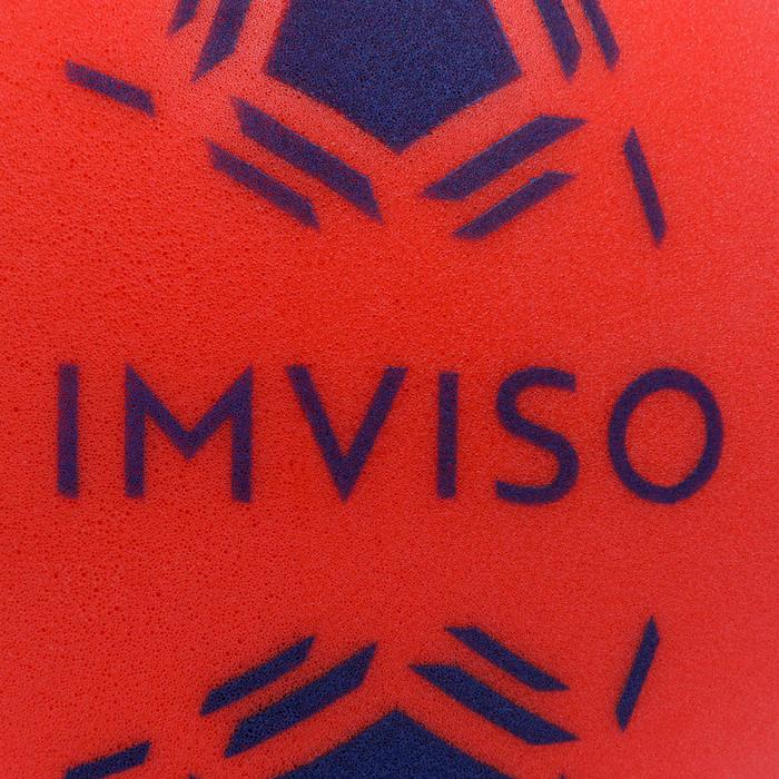 Mini foambal voor zaalvoetbal rood/blauw