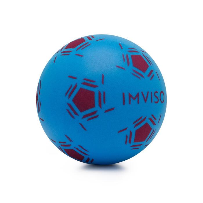 Mini foambal voor zaalvoetbal blauw/paars