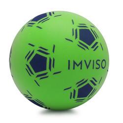 Bola de Aprendizagem Futsal em Espuma Tamanho 3 verde