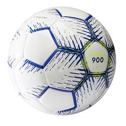 Zaalvoetbal FS900 maat 4 wit/blauw