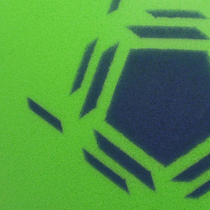 Ballon de Futsal Mousse taille 4 vert