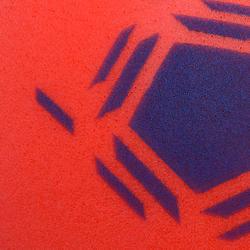 Ballon de Futsal Mousse taille 3 rouge
