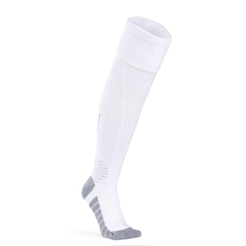 WOMEN FUTSAL CLOTHING - Women's Futsal Socks - White IMVISO