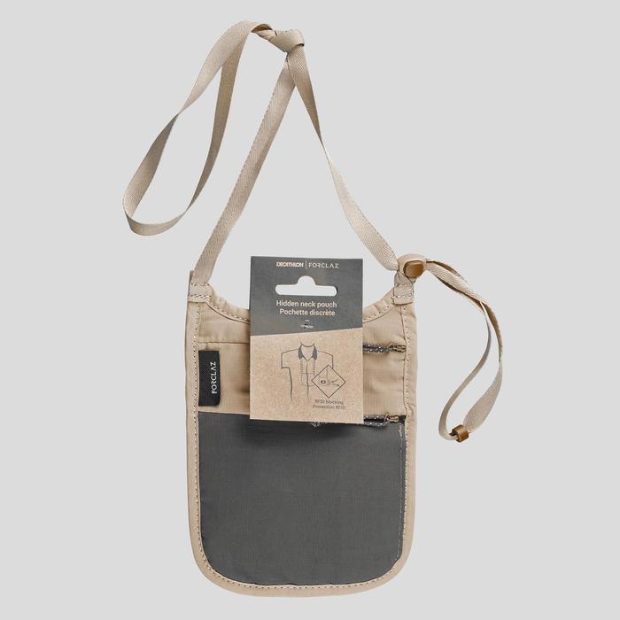 Nektasje RFID voor backpacken Travel beige