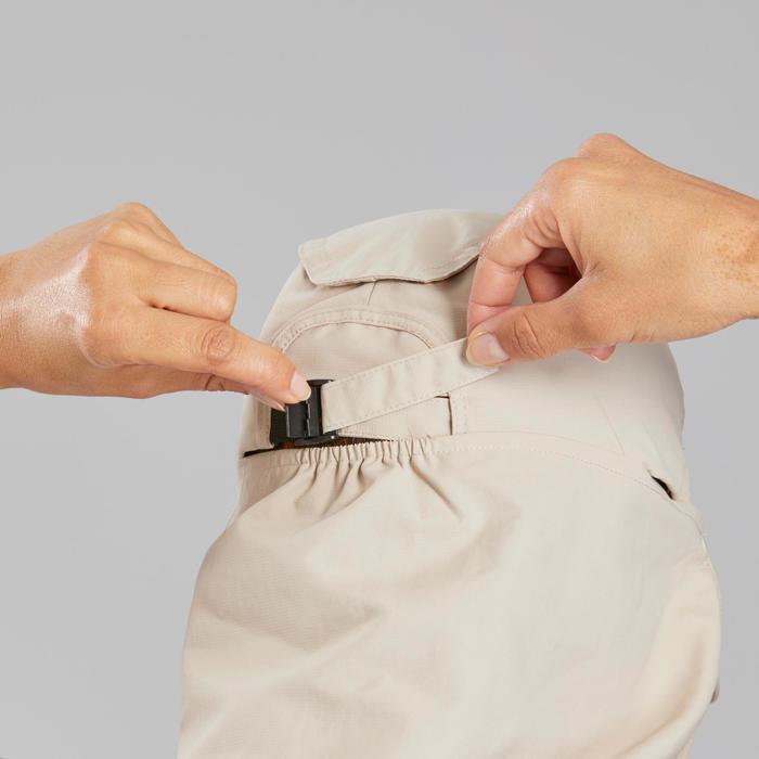 Uv-werende pet Trek 900 met afneembare nekbeschermer beige