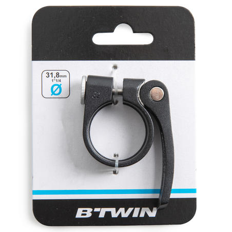 31.8 mm Seat Clamp - Silver