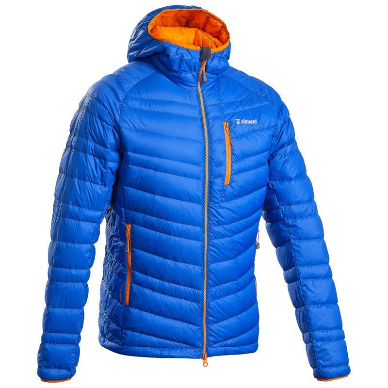 Men's Mountaineering Down Jacket - Alpinism Light Blue