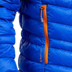 Donsjas voor alpinisme heren Alpinism Light blauw