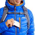 WINTER MOUNTAINEERING CLOTHING Climbing - Down Jacket - ALPI LIGHT BLUE SIMOND - Climbing