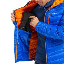 Casaco Alpinismo/escalada penas homem - ALPINISM LIGHT Azul