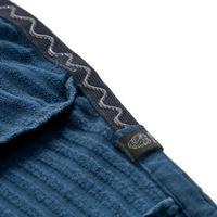 Men's Merino Wool Technical Hooded Pullover - Alpinism Blue