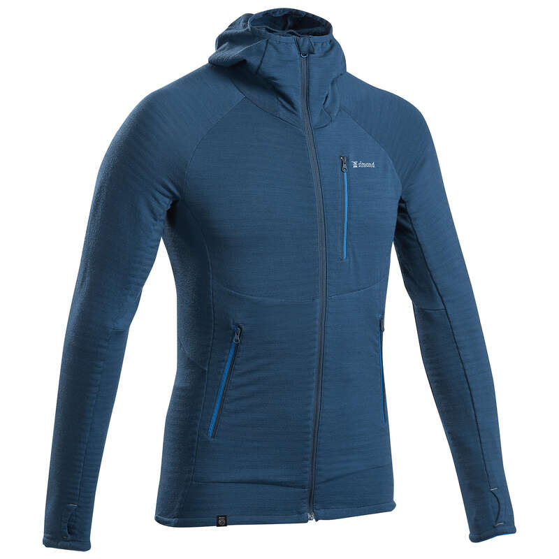 MOUNTAINEERING CLOTHING Clothing - Men's Pullover - Alpinism Blue SIMOND - Tops