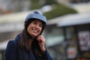casque vélo en ville