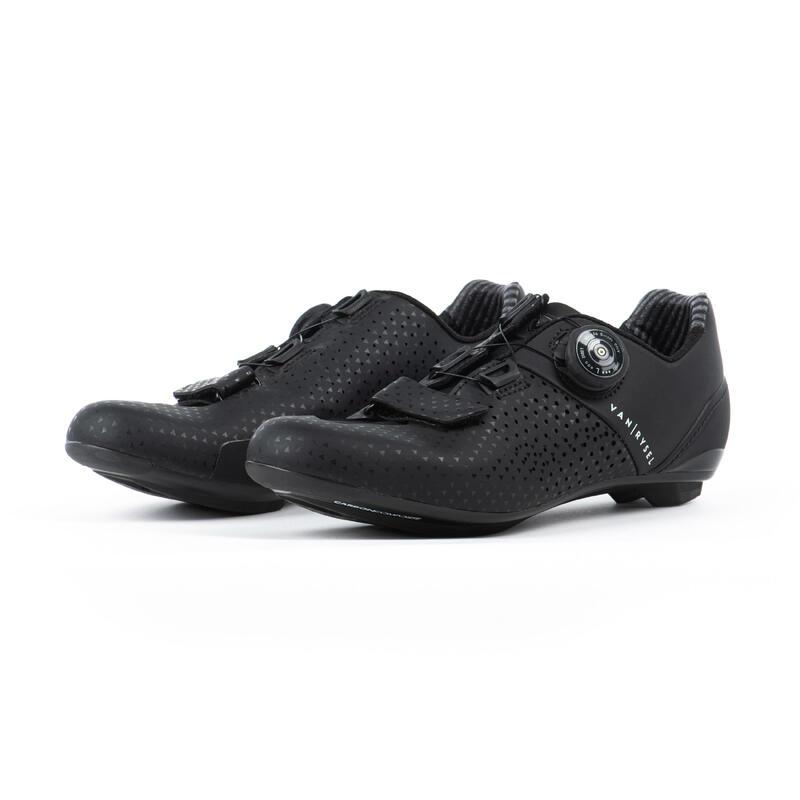 RR 520 Women's Carbon Road Cycling Shoes - Black