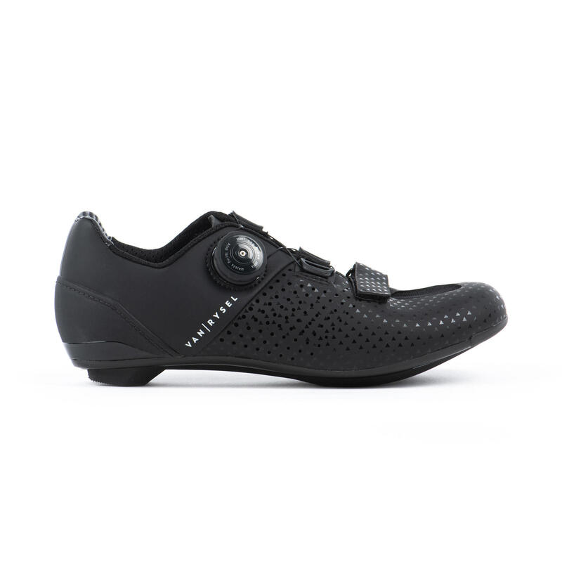 Chaussures de vélo cyclo-sport VAN RYSEL ROADR 520 NOIR