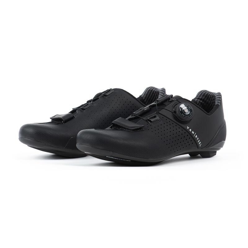 RR 520 Carbon Road Cycling Shoes - Black