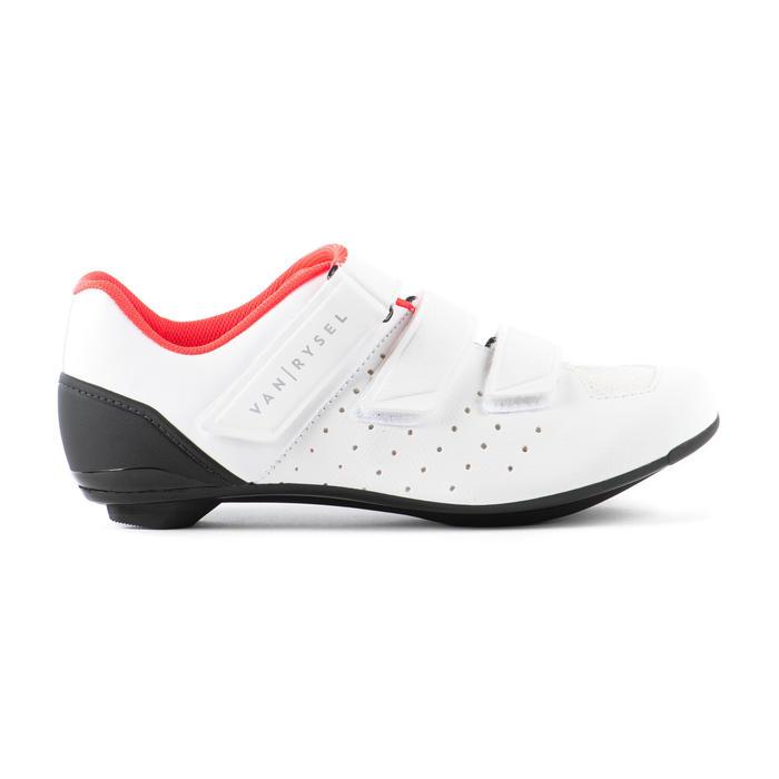 Fietsschoenen racefiets 500 wit